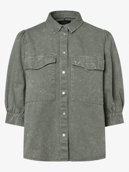Zielona koszula jeansowa Noisy May