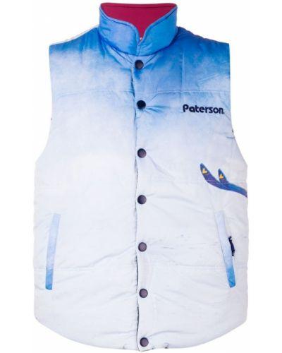 Куртка на пуговицах с логотипом Paterson.