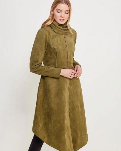Зеленое пальто Sahera Rahmani