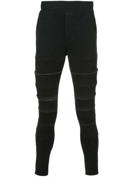 Шерстяные спортивные черные спортивные брюки Private Stock
