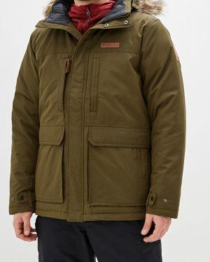 Зимняя куртка утепленная осенняя Columbia