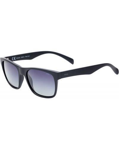 Солнцезащитные очки черные спортивные Invu