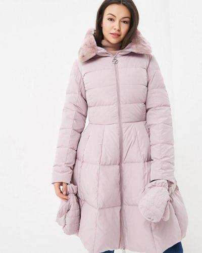 Зимняя куртка осенняя розовая Odri Mio