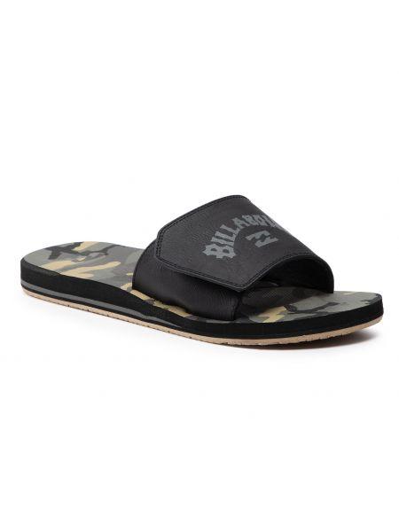 Czarne sandały na lato Billabong