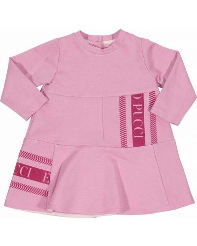 Różowa sukienka Emilio Pucci