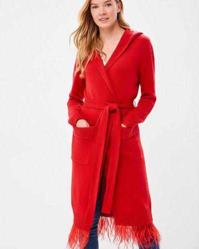 Красный кардиган Grand Style