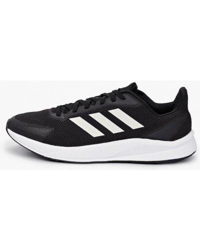 Текстильные черные кроссовки Adidas