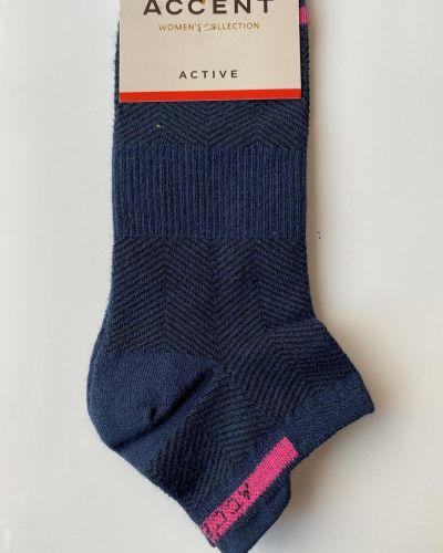 Носки из полиамида - синие Accent