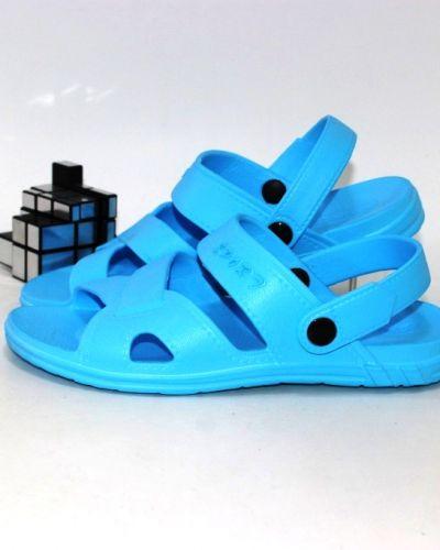 Босоножки - голубые Luckline