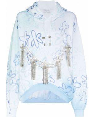 Bluza z kapturem z kapturem niebieski Collina Strada