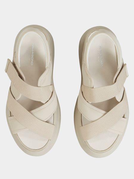 Бежевые сандалии Vagabond