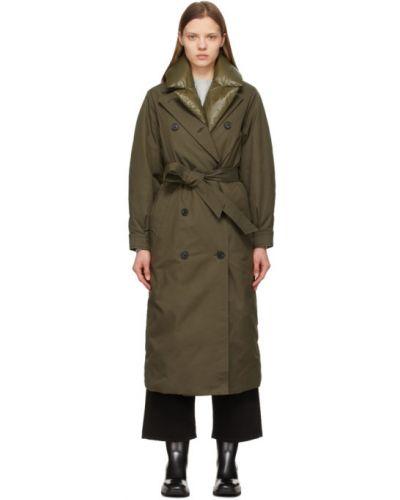 Стеганое пуховое длинное пальто для полных Mackage