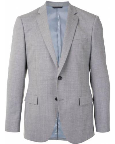 Классический однобортный классический пиджак с карманами на пуговицах D'urban