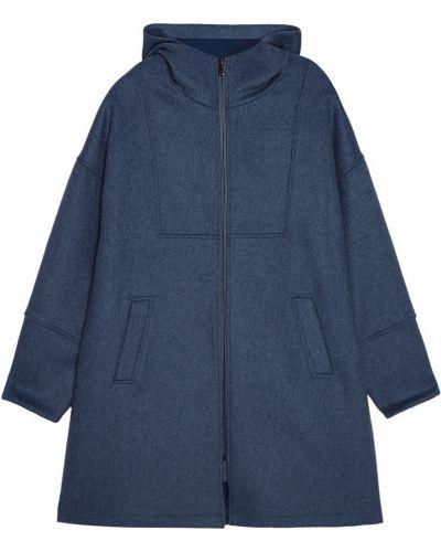 Шерстяное пальто - голубое Paul & Joe Sister