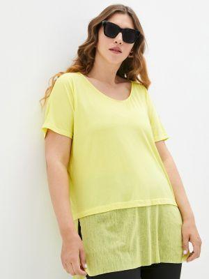 Желтая весенняя футболка Svesta
