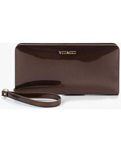 Коричневый кошелек Vitacci