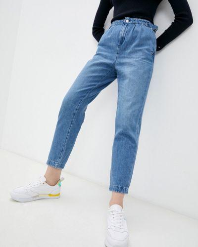 Голубые зимние джинсы Tommy Hilfiger