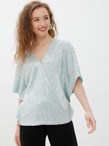 Зеленая блузка с коротким рукавом Wallis