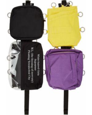 Рюкзак белый рюкзак-мешок Raf Simons