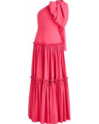 Вечернее платье на одно плечо с декольте A La Russe