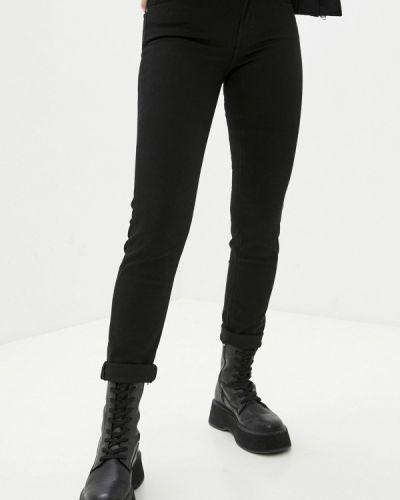 Черные джинсы-скинни узкого кроя Lee