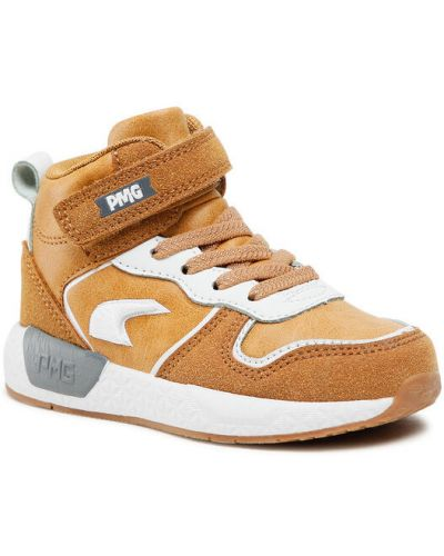 Brązowe sneakersy Primigi