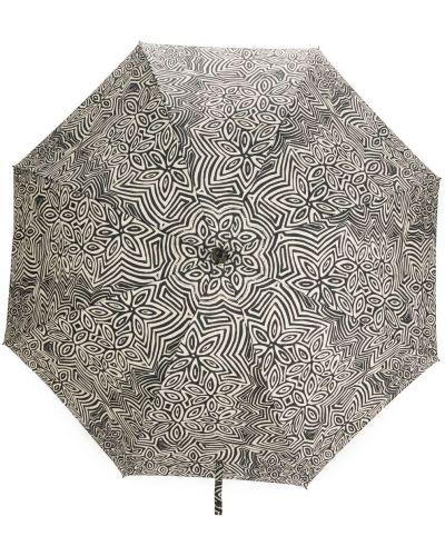 Biały parasol z printem w kwiaty 10 Corso Como