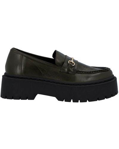 Loafers - zielone Bianco