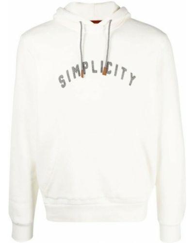 Biały sweter Eleventy