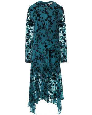 Платье бирюзовый из вискозы Chloé