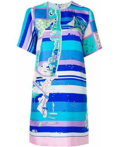 Платье миди мини прямое шифт Emilio Pucci