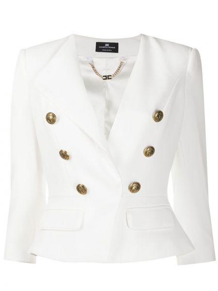 Куртка на пуговицах укороченная Elisabetta Franchi