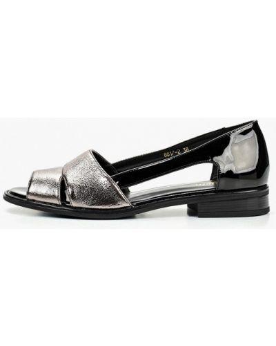 Кожаные туфли с открытым носком на каблуке Enjoin'