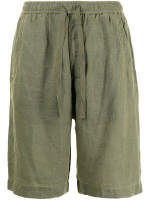 Зеленые шорты с карманами Maharishi