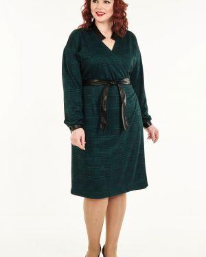 Платье с запахом на пуговицах Wisell