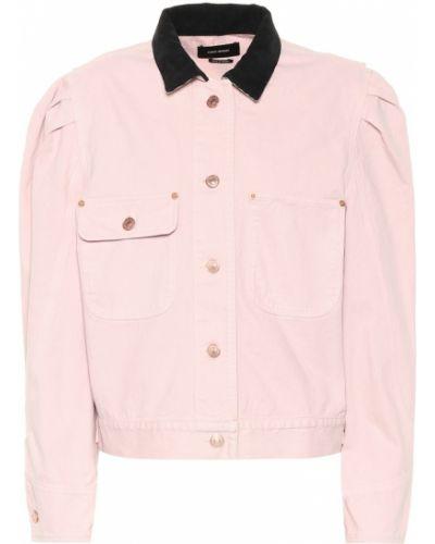 Джинсовая куртка черная весенняя Isabel Marant