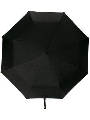 Parasol czarny khaki Alexander Mcqueen