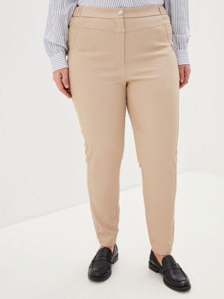 Бежевые брюки с воротником Intikoma