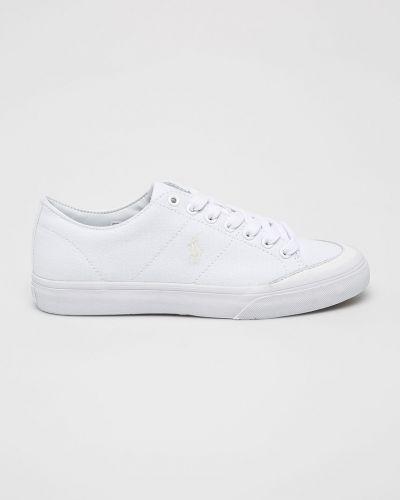 Низкие кеды белые кожаный Polo Ralph Lauren