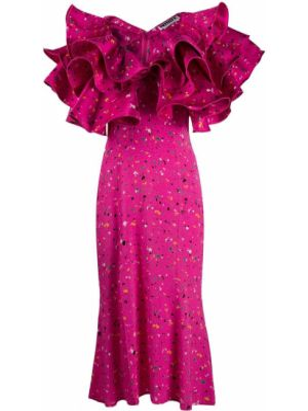 Платье мини миди с декольте Rotate