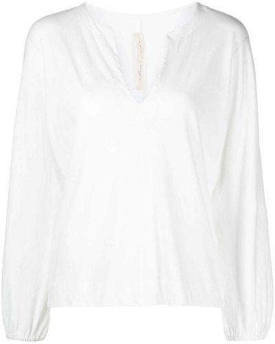 Хлопковая блузка - белая Raquel Allegra