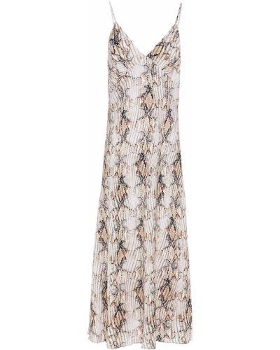 Sukienka midi z wiskozy z printem Jets Australia By Jessika Allen