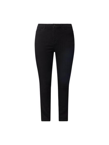 Czarne jeansy bawełniane Junarose