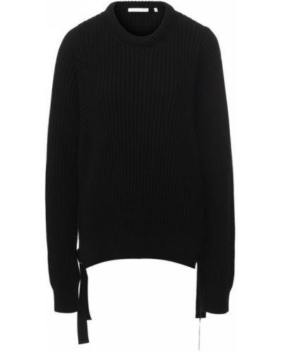 Вязаный свитер свободного кроя широкий Helmut Lang