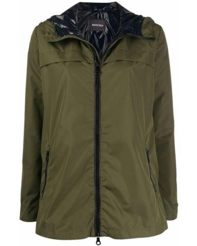 Zielony płaszcz Duvetica