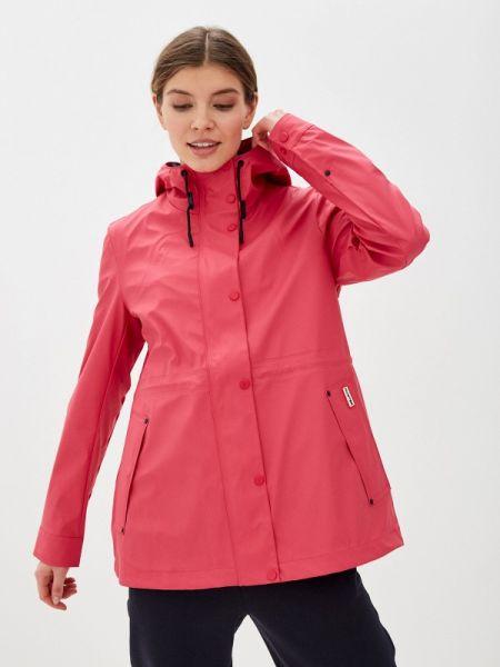 Облегченная розовая куртка Hunter