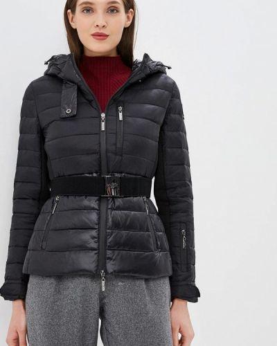 Утепленная куртка демисезонная черная Camomilla Italia