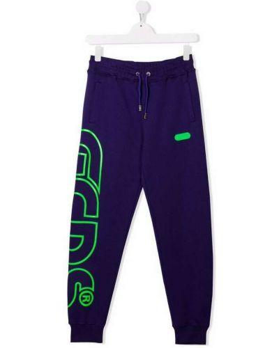 Fioletowe spodnie Gcds