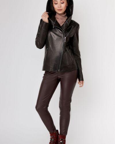 Куртка с капюшоном - черная Bertini
