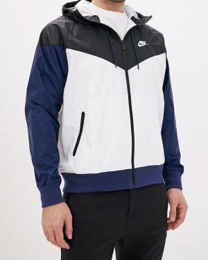 Куртка осенняя белая Nike
